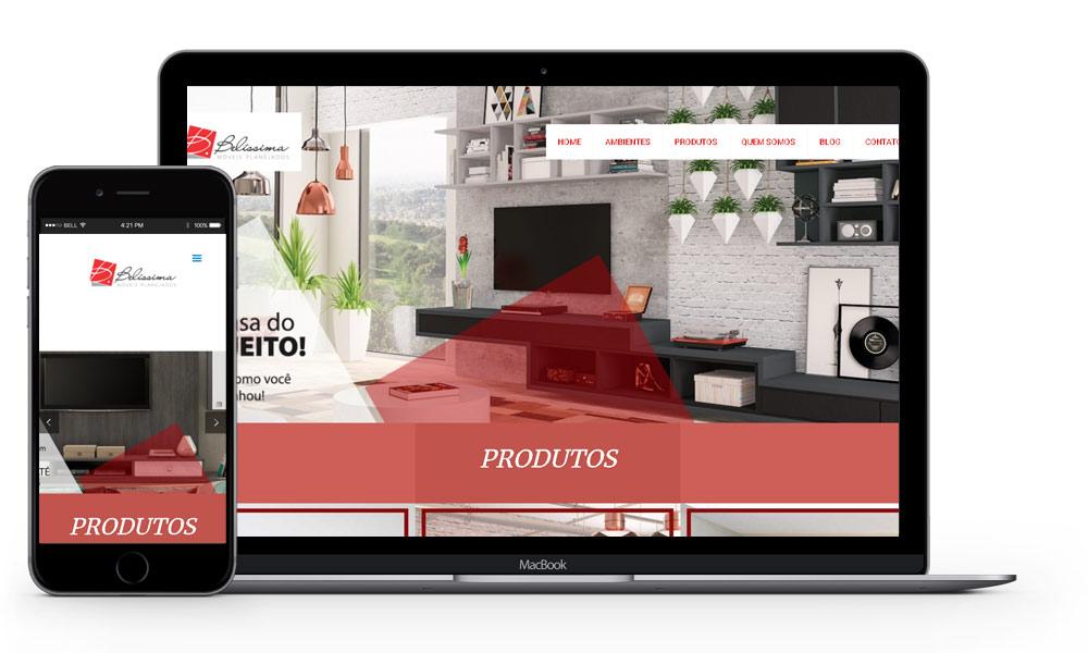 imagem mostrando notebook e smartphone com otimização para google e cases de marketing digital