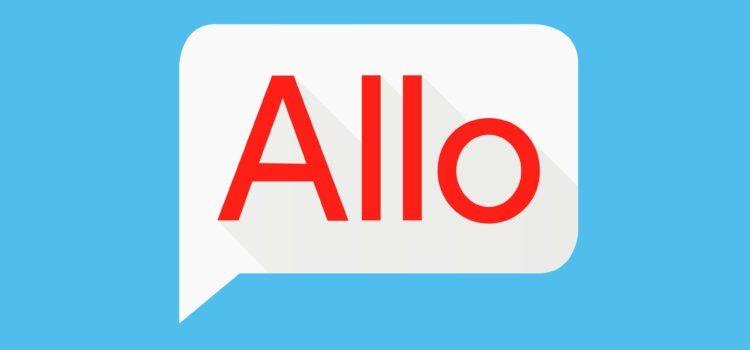 Novo app de mensagem do Google, Allo