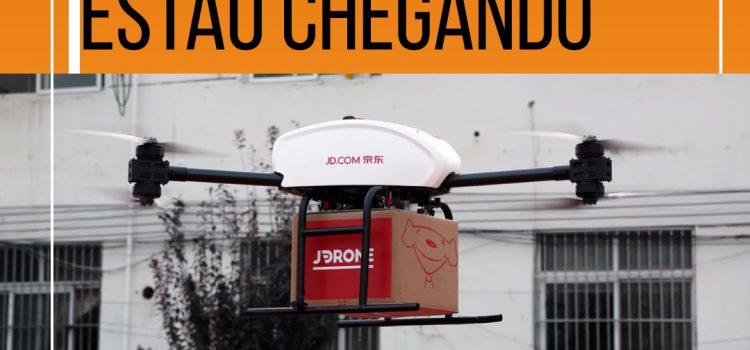 O USO DE DRONES ESTÁ BEM PRÓXIMO